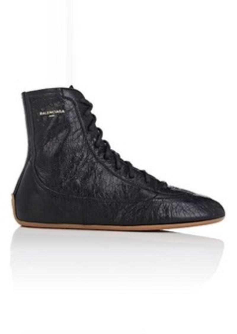 balenciaga balenciaga women 39 s women 39 s leather boxing sneakers shoes shop it to me. Black Bedroom Furniture Sets. Home Design Ideas