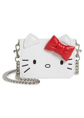 Balenciaga x Hello Kitty® Mini Kitty Calfskin Leather Wallet on a Chain