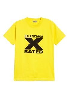 Balenciaga X-Rated Graphic Tee