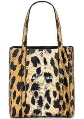 Balenciaga XXS Leopard Everyday Tote