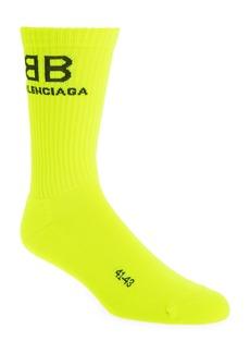 Balenciaga Yellow BB Socks