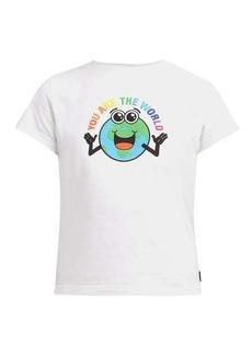Balenciaga You are the World cotton T-shirt
