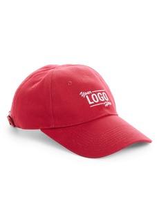 Balenciaga Your Logo Here Baseball Cap