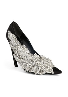 Balenciagao Embellished Pointy Toe Pump (Women)