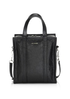 Balenciaga XS Bazar Arena Leather Shopper