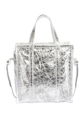Balenciaga Bazar Shopper Small AJ Metallic Leather Tote Bag