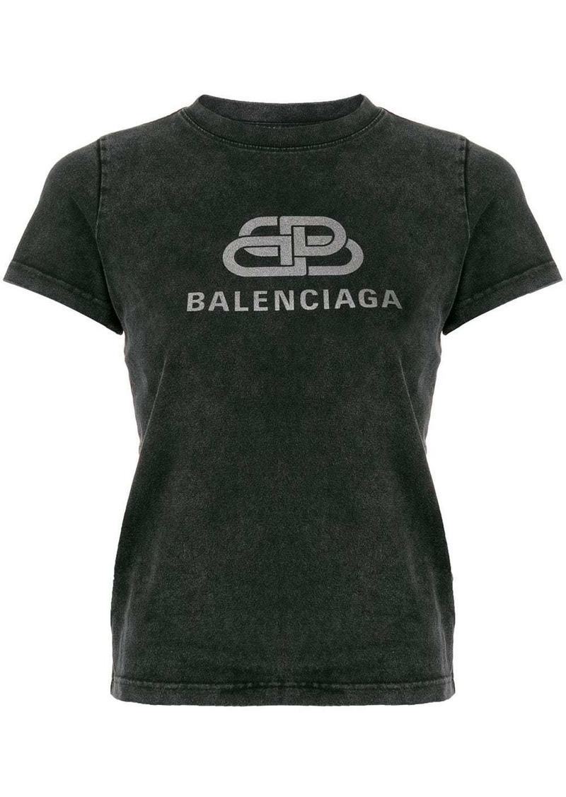 BB Balenciaga logo T-shirt