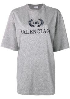 BB Balenciaga print T-shirt