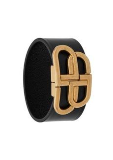 Balenciaga BB buckle bracelet