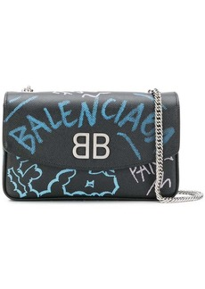 Balenciaga BB chain wallet