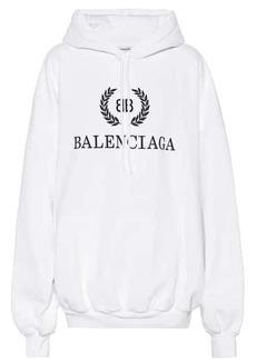 Balenciaga BB cotton hoodie
