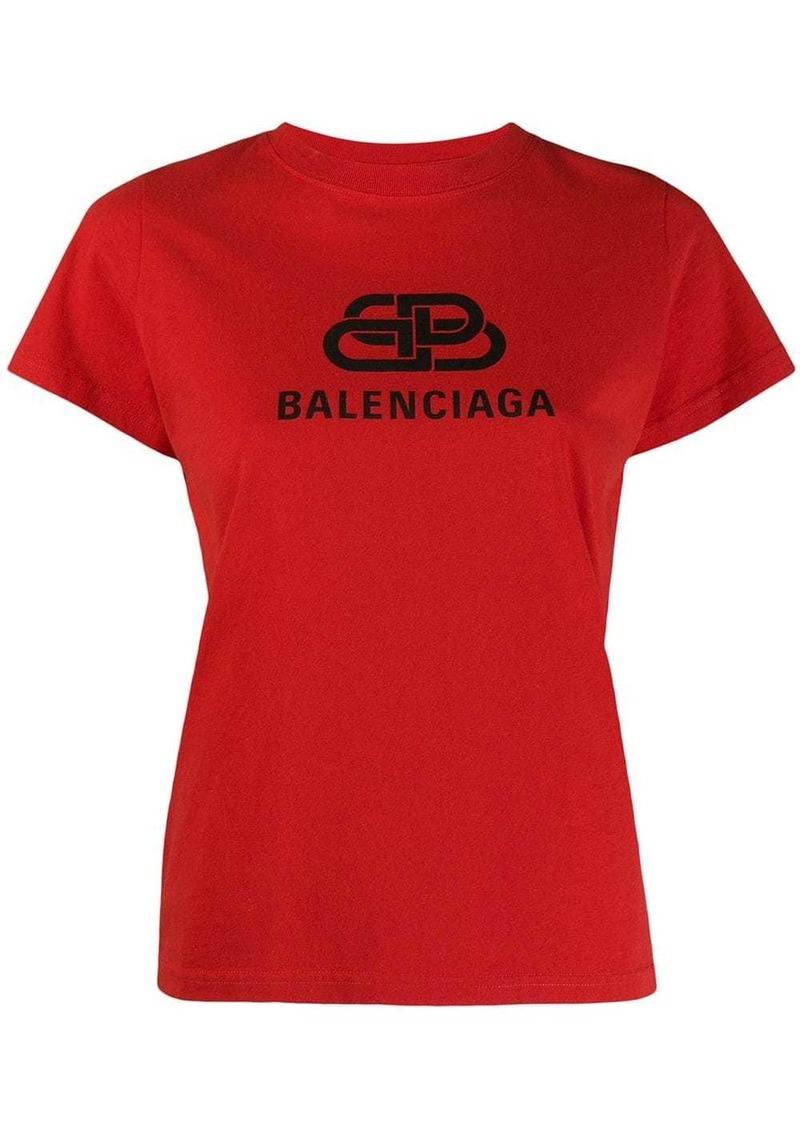 Balenciaga BB log print T-shirt