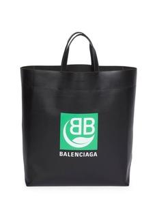 Balenciaga BB Logo Medium Market Tote