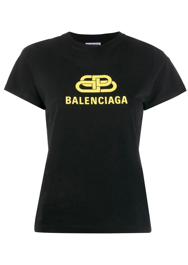 Balenciaga BB logo print T-shirt