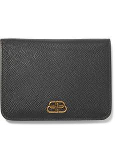 Balenciaga Bb Medium Textured-leather Wallet