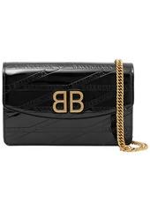 Balenciaga Bb Patent-leather Shoulder Bag