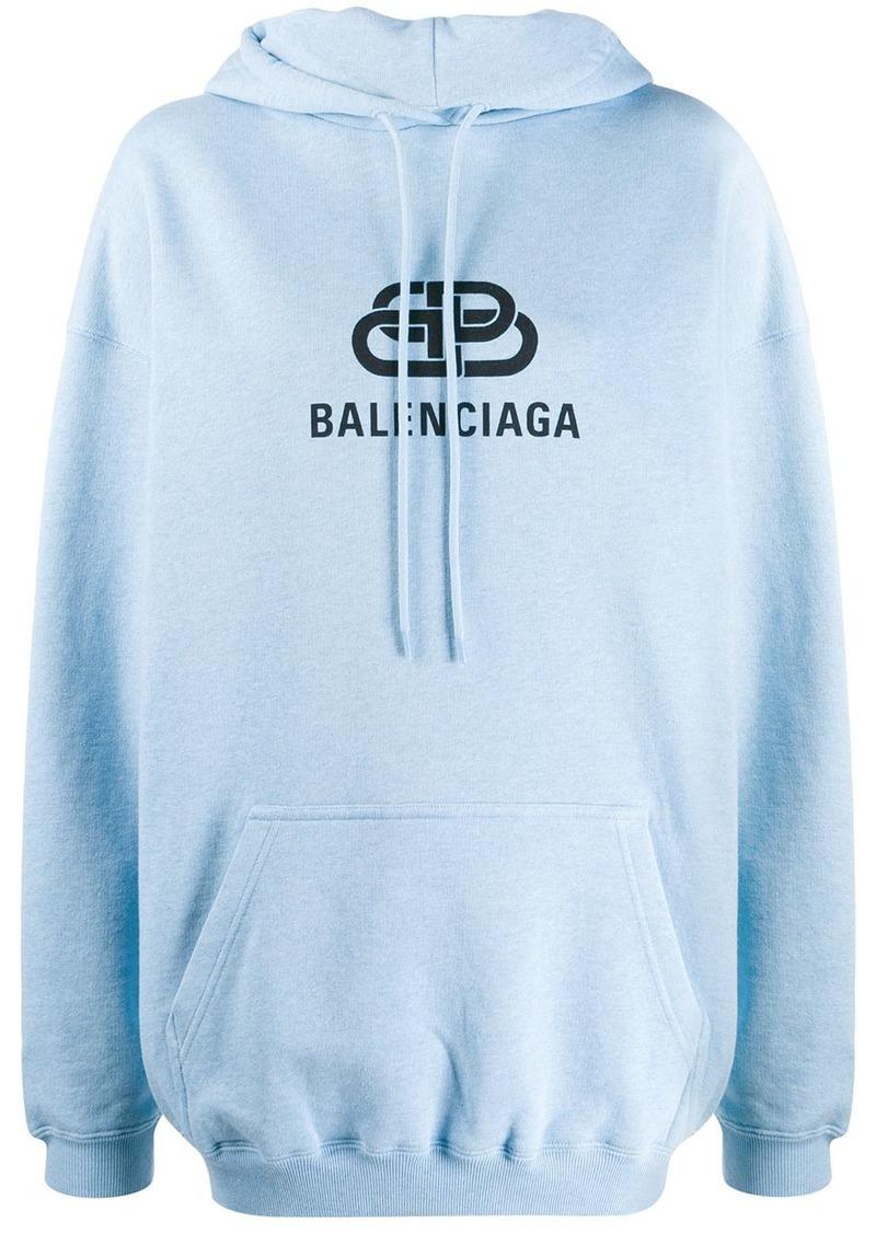 Balenciaga BB print hoodie