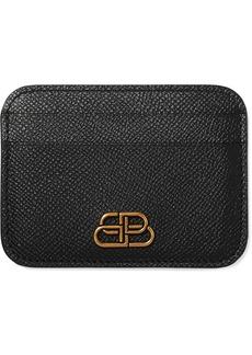 Balenciaga Bb Textured-leather Cardholder