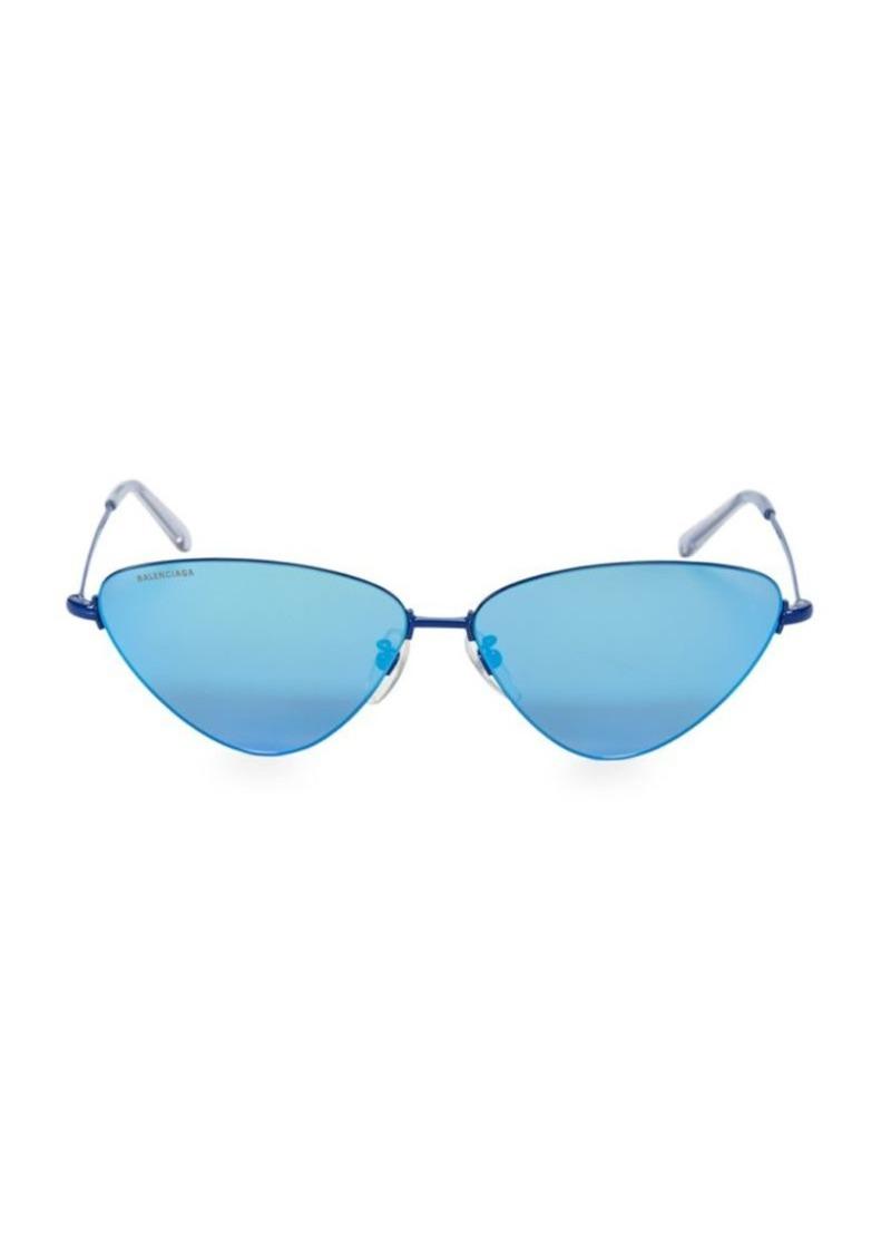 Balenciaga BB0015S 61MM Narrow Cat Eye Sunglasses