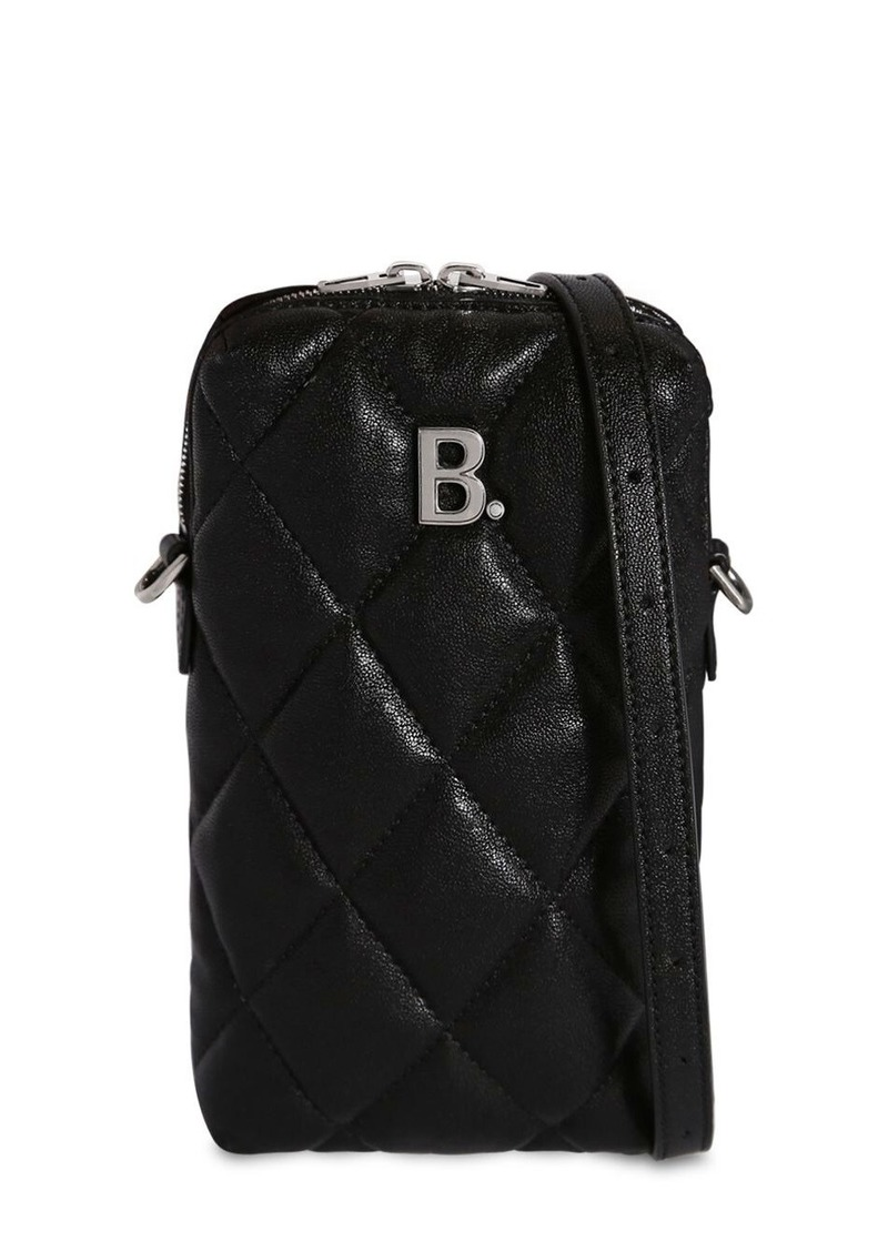 Balenciaga Bdot Quilted Leather Shoulder Bag