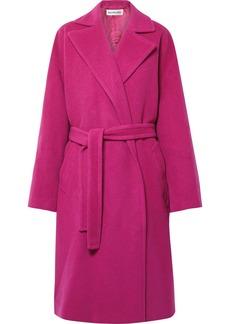 Balenciaga Belted Camel Hair-blend Coat