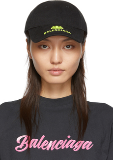 Balenciaga Black & Yellow New Logo Cap