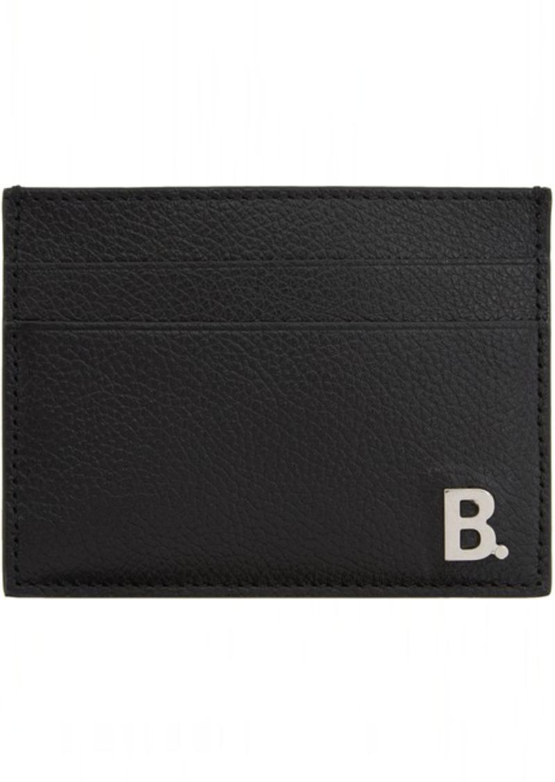 Balenciaga Black B. Cardholder