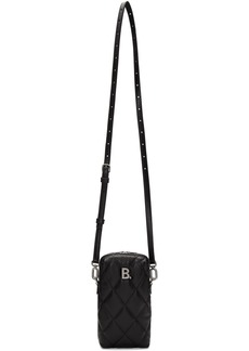 Balenciaga Black B. Touch Rectangle Bag