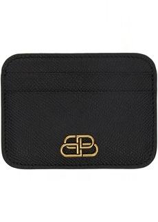 Balenciaga Black BB Card Holder
