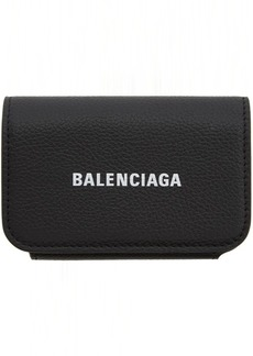 Balenciaga Black Cash Accordion Wallet