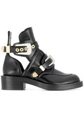 Balenciaga black ceinture leather ankle boots abv4a69f99b a