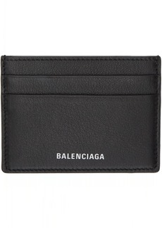 Balenciaga Black Everyday Multi Card Holder