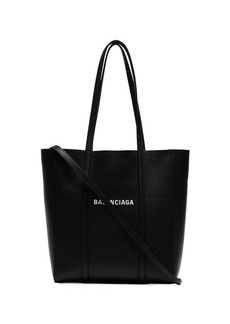 Balenciaga black everyday XS leather tote