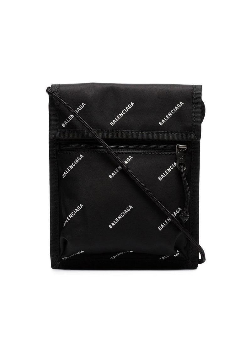 Balenciaga black Explorer logo bag