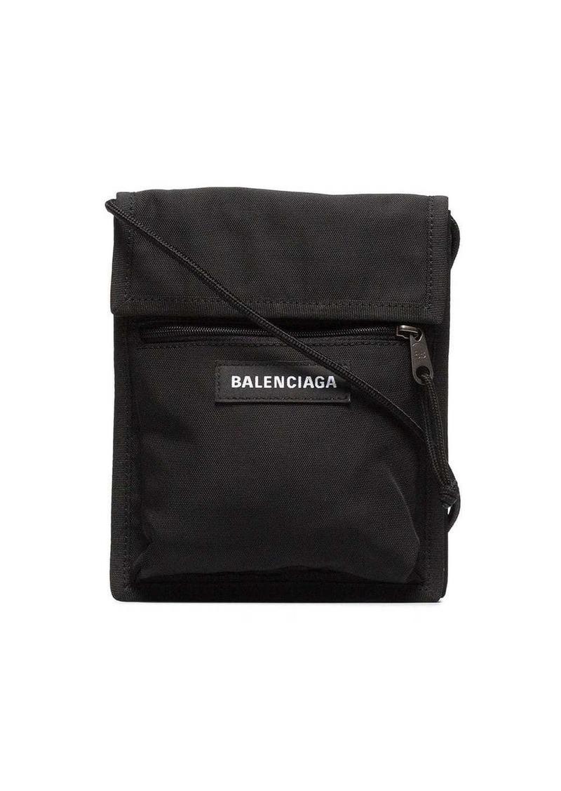 Balenciaga black Explorer messenger bag