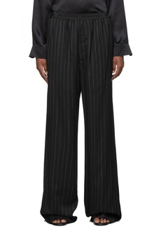 Balenciaga Black Fluid Tailored Trousers