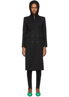 Balenciaga Black Hourglass Coat