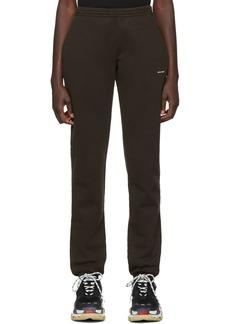 Balenciaga Black Jogger Lounge Pants