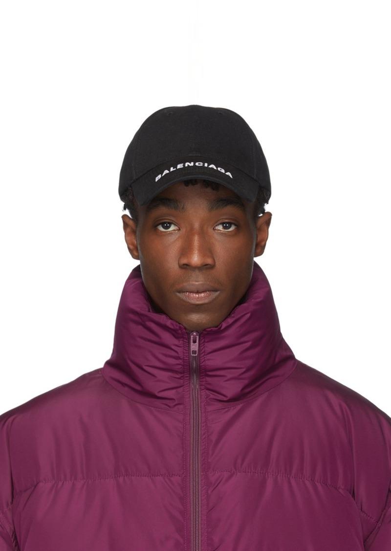 Balenciaga Black Logo Hat