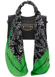 Balenciaga Black Mini City Scarf Bag