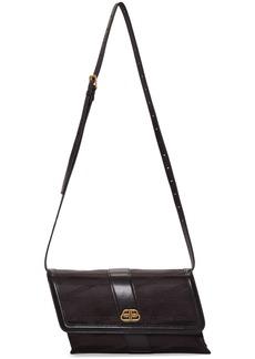 Balenciaga Black Monogram Shift Wallet Bag