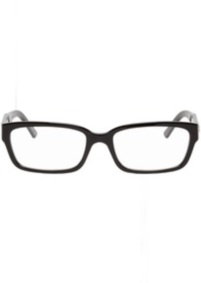 Balenciaga Black Rectangle Glasses