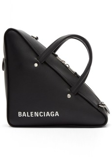 Balenciaga Black Small Triangle Bag