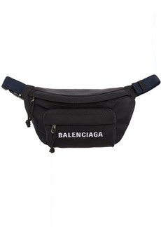 Balenciaga Black Small Wheel Belt Bag