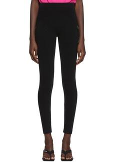 Balenciaga Black Sporty Leggings