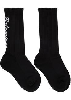 Balenciaga Black Tennis Socks