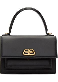 Balenciaga Black XS Sharp Satchel Bag