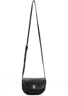 Balenciaga Black XS Soft Round Crossbody Bag