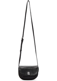 Balenciaga Black XS Soft Round Crossbody Bag