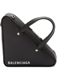 Balenciaga Black XS Triangle Chain Bag